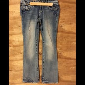 Rerock For express boot cut 4R   jeans distressed